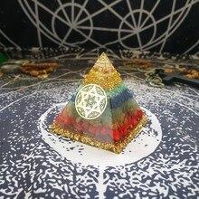 Orgonite sete chakras – Arcanjo Zadkiel
