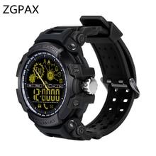 DX16 LF21 ZGPAX Smartwatch Relógio Inteligente IP68 À Prova D' Água Profissional Ultra-longa Espera Passometer relógio de pulso Para IOS Android
