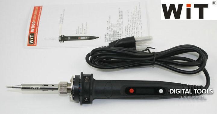 120W Japan WiT Repair Tool W800 Electric Soldering Iron 110~220V Internal Heat Type Digital Display Adjustable Temperature