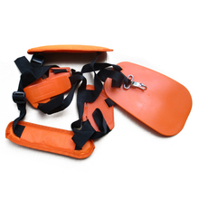 hot deal buy mayitr adjustable double shoulder harness lawn mower strap grass trimmer belt cutter harness ourdoor garden tools