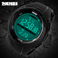Skmei New Luxury Brand Men LED Digital Military Watch, 50M Dive Swim Dress Sports Watches Fashion Outdoor Wristwatches