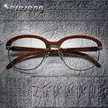 2017 Retro Wood Glasses Frame Men Eyeglasses Frames Men for Reading Oculos Carter Glasses Women Fashion Eyewear Eyeglasses Frame