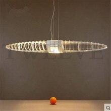 Raumschiff Pendelleuchte Moderne Minimalistische Mode Kunst Wohnzimmer Lampe Esszimmer Led Kronleuchter Lightingac110v 220 V