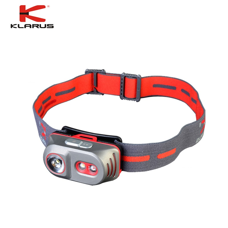 Original KLARUS H1A Titanium Headlight 550LM Cree XP-L V6 LED Headlamp with USB Rechargeable by 14500 Battery fenix cree xp e2 r5 led 450lumens 4aa batteries headlamp headlight