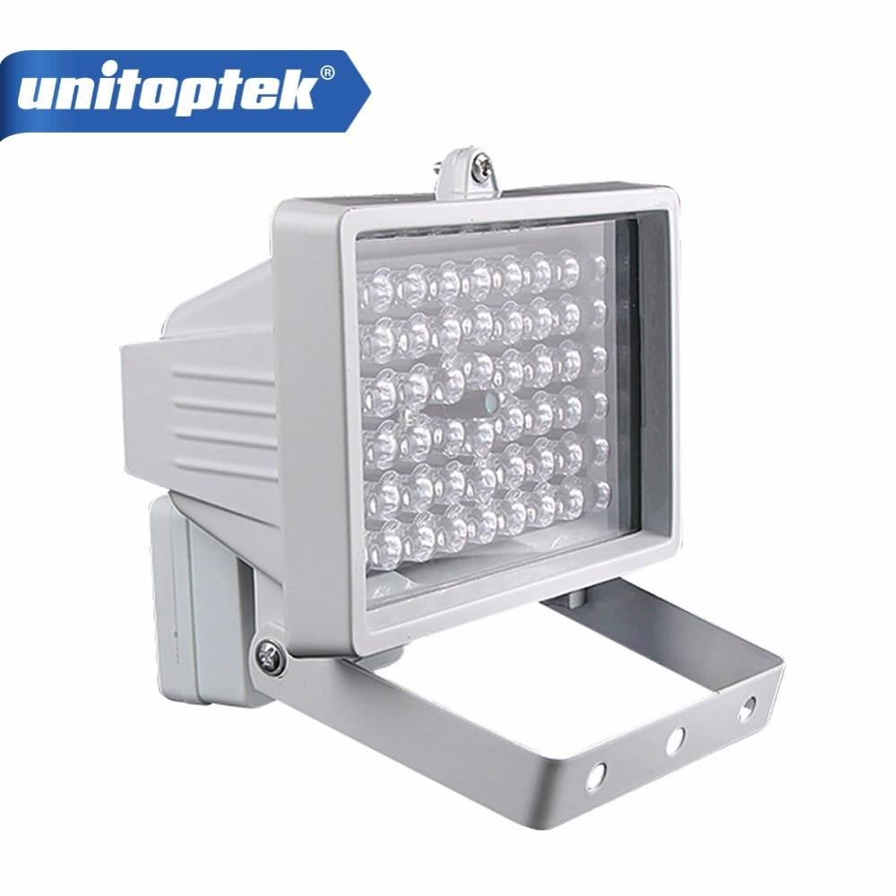 30m 54 LED 12V 8W Night Vision IR Infrared Illuminator Light lamp LED Auxiliary lighting For Security CCTV Camera