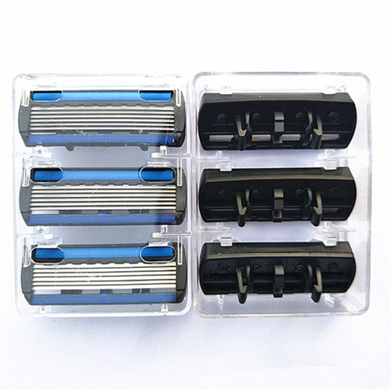 Original 7pcs set 1 Machine 6 Blades Best Shaving for Men 39 s Replaceable Razor Hot Shaver Standard Russia EU amp US in Razor from Beauty amp Health