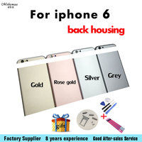 Battery Back Cover Middle Frame Metal Rear Housing For Iphone 6 6g 4 7 With