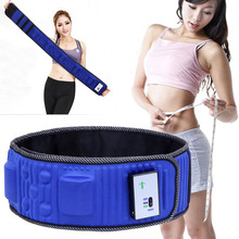 Men Women Vibration Massage Machine Automatic Body Slimming Wraps Magnet Therapy Waist Slim Belt Weight Loss Burning Fat Product