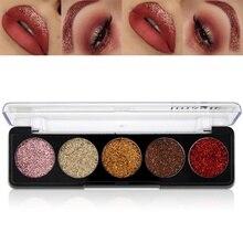 Sexy Eye Makeup Glitter Bright Rainbow Pearl Glitters Diamond Cosmetic Rainbow Eyeshadow New