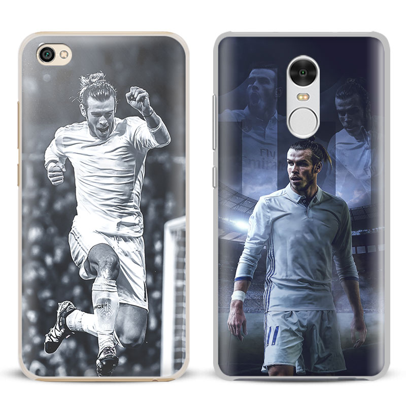 Gareth Bale Coque Cool Phone Case For Xiaomi Redmi Note 2 3 4 4X 5A Pro Mi 4 5 5S Plus 5X 6 MiA1 Minote 2 3 Shell Cover