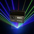 Nova 3.5 W rgb Luz Laser/Show de Laser rgb/rgb Feixe de Luz Laser/Projetor Laser rgb