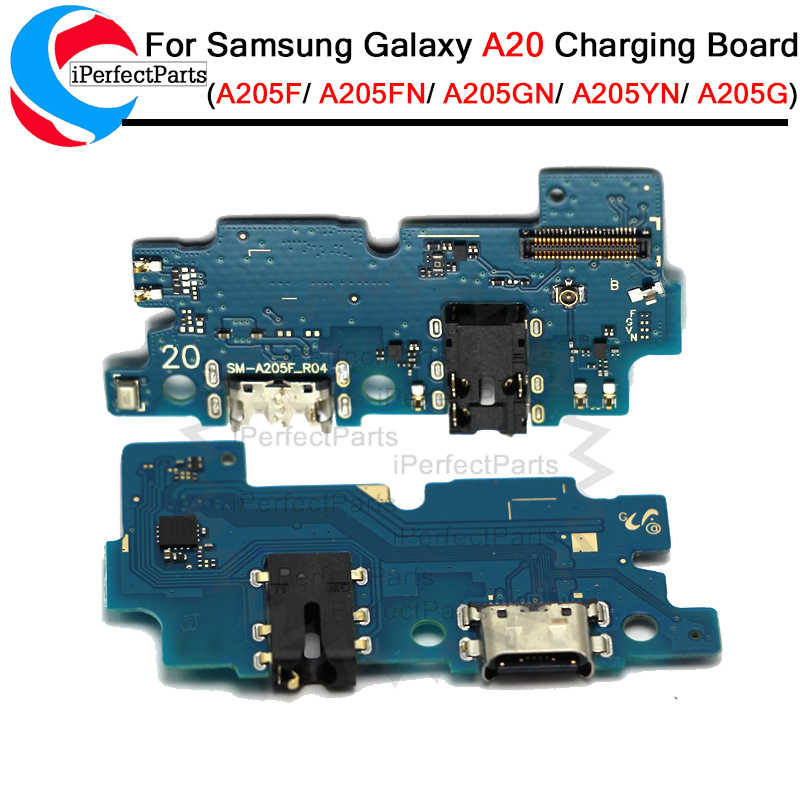 ZHANGTAI Sparts Parts Charging Port Board for Galaxy A20 SM-A205F Repair Flex Cable