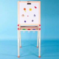 Детская деревянная игрушка здоровый и защиту окружающей среды Детский рисунок доска деревянная рамка давая Краски чашка