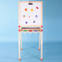 Children's wooden toy healthy and environmental protection children's drawing board wooden frame giving Paint a cup