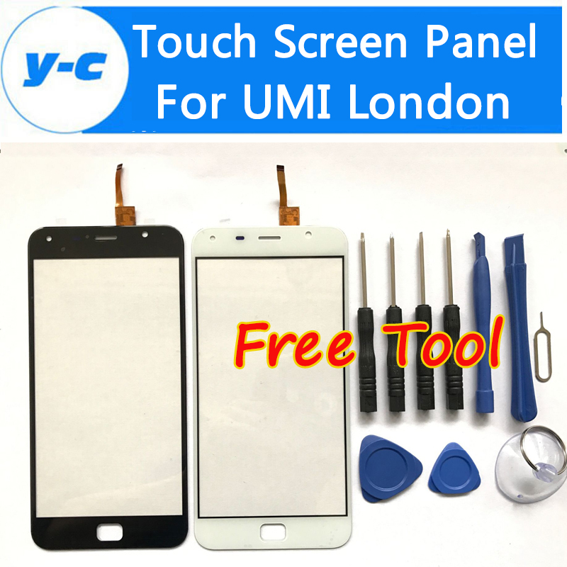 UMI Touch X Touch Screen High Quality 100% New Digitizer Touch Glass Panel Replacement For UMI Touch Smartphone