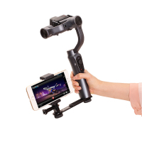 Gimbal Monitor Light Phone Mount Adapter Bracket For Zhiyun Smooth Q 4 DJI Osmo Mobile 2