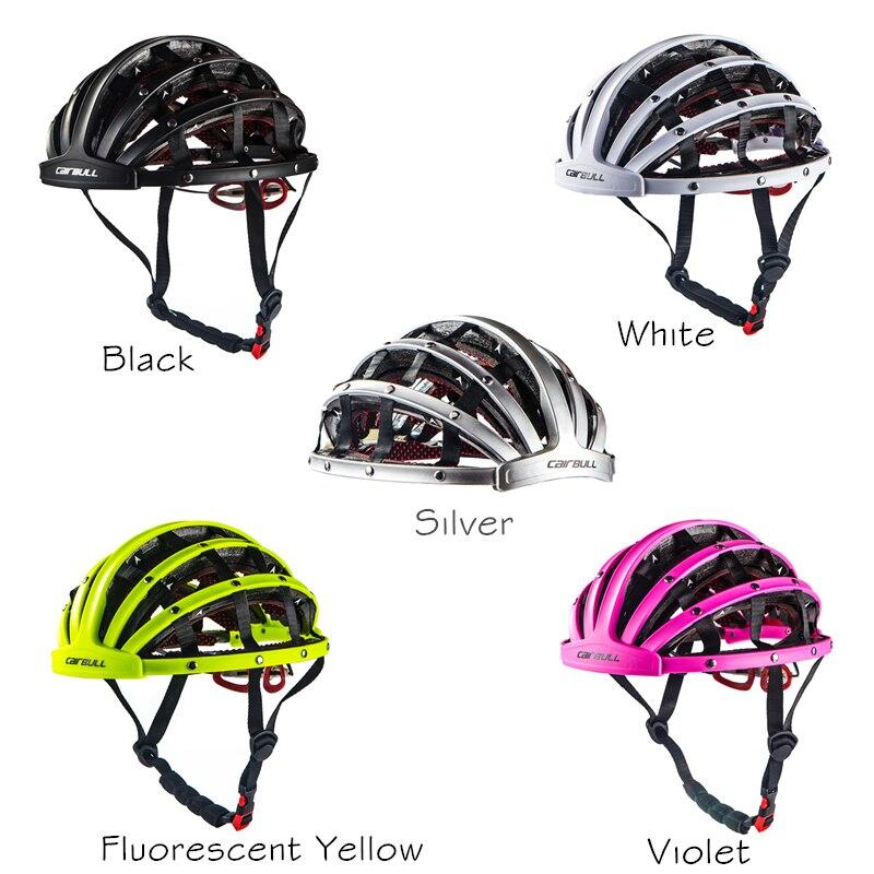 Foldable 2017 New Cycling Helmet Lightweight Portable Safety Bicycle Helmets City Bike Sports Leisure Bike Helmet Casco Ciclismo 2