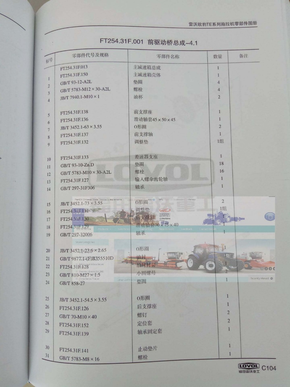 Foton Ft254 Tractor Parts The Set Of Front Drive Shaft Accessories Kama Ts254c Wiring Diagram Is Old Design Check With About In Tool From Tools On