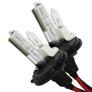 Image 1 - Safego DC 12V hid xenon h4 xenon halogen lampen licht H4 9004 9007 H13 high low Hallo Lo lampe 35W Auto scheinwerfer 4300K 6000k 8000k