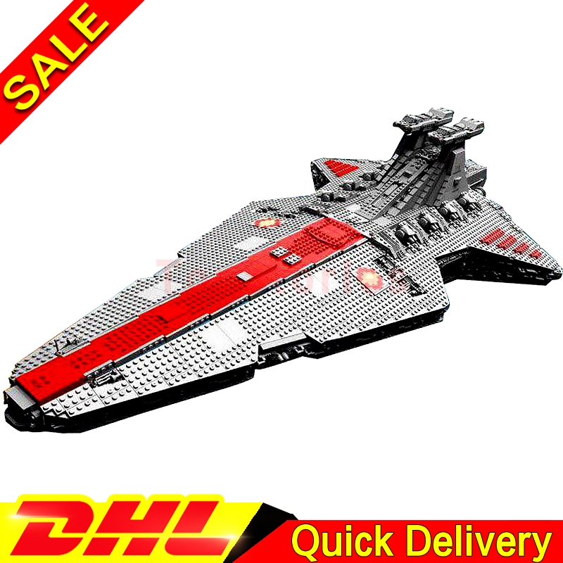 Lepin 05077 6125PCS Star battle Classic Kits Ucs ST04 Republic Cruiser Educational legois Building Blocks Bricks Toys Model Gift lepin 05077 stars series war the ucs rupblic set star destroyer model cruiser st04 diy building kits blocks bricks children toys
