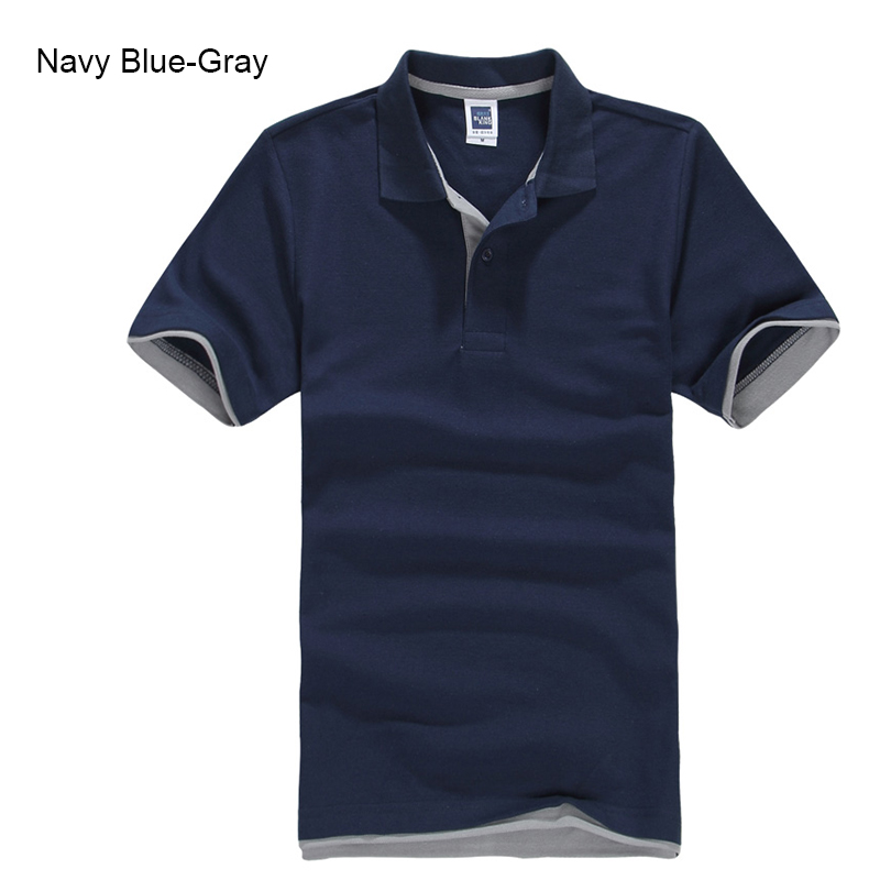 Brand New Men's Polo Shirt High Quality Men Cotton Short Sleeve shirt Brands jerseys Summer Mens polo Shirts 57