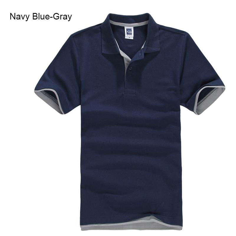 URSPORTTECH Men's Polo Shirt For Men Desiger Polos Men Cotton Short Sleeve shirt Clothes jerseys golftennis Plus Size XS- XXXL 27