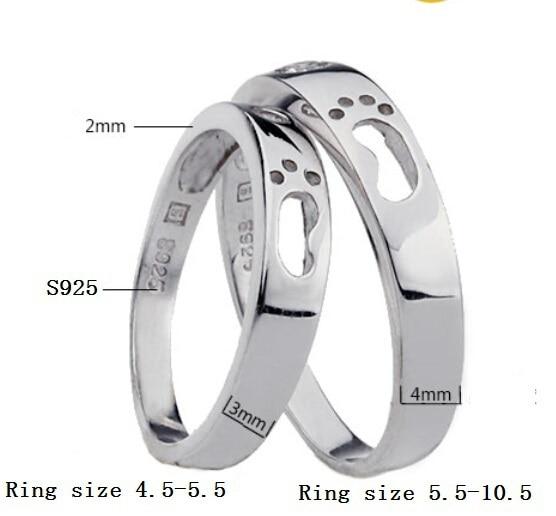 57c6aa5da6db Uloveido anillos de plata para mujeres hombres Bijoux venta anillo de  compromiso de plata amor joyería de cristal Bague Aneis cobre circón j013  en Anillos ...