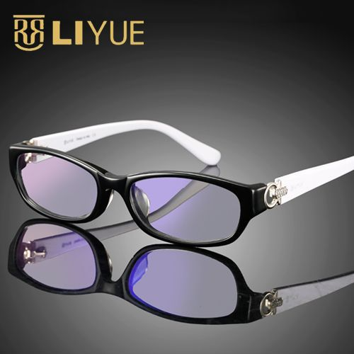 Anti Blue Ray Glasses Strass Computerschutzbrillen Damenmode Anti Radiation Brillen Brillen UV400 2501