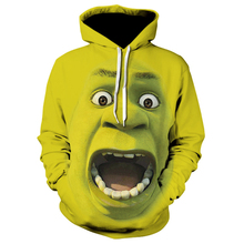 men's fashion Shrek 3d hoodies Shrek Shirt Funny hoodie hip hop Streetwear 3d Print sweatshirts shrek the musical blackpool