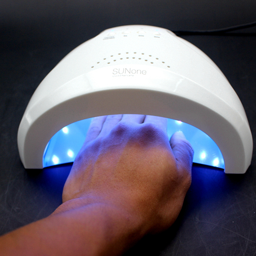 Sunone 48W UV LED Nail Lampe LED Manicure UV Lamp Nail Dryer for UV Gel LED Gel Nail Machine Infrared Sensor 3 timer set runail лампа uv led 48w