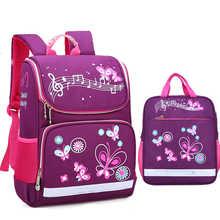 Children School Bags Set For Girls Boys Orthopedic Backpack Cartoon Butterfly Car School Bag Kids Satchel Knapsack Mochila - DISCOUNT ITEM  30% OFF All Category