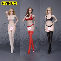 3 Color 1/6 Scale FG067 Female Sexy Erotic underwear Women Underwear Clothes Clothing Set F 12 Action Figure Female Body Doll