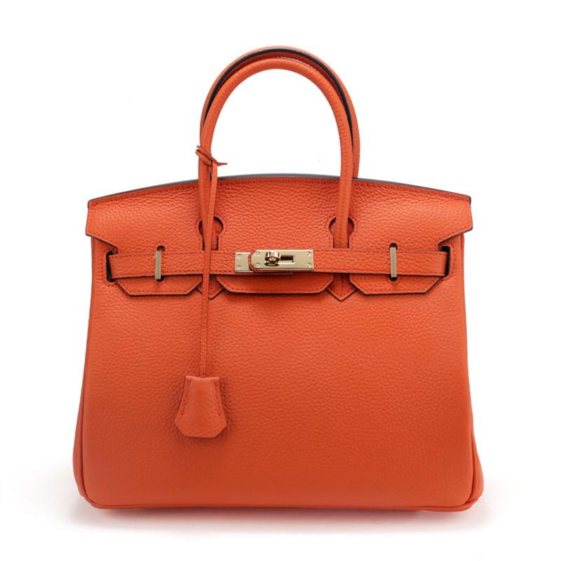 New Arrival 2017 Brand Genuine Leather Women Handbag Soft Leather Fashion Shoulder Bag Large Capacity Casual Women Bag Sac A hp c9469a