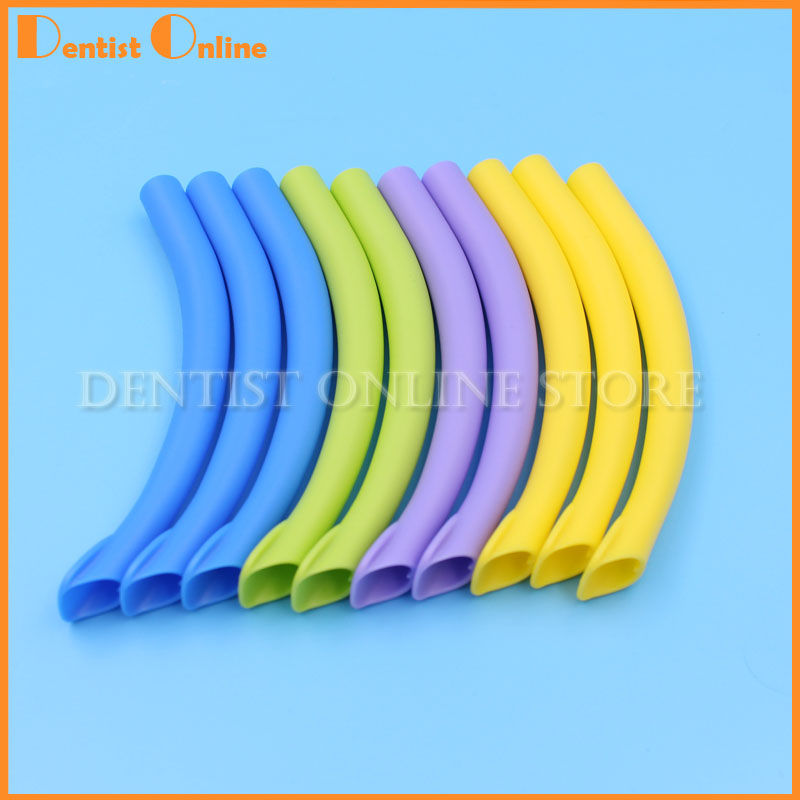 Dental Suction Tip Made Of High Quality Polyethylene  Multi Colours Available Autoclavable Available In Children