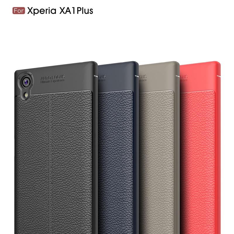 For Sony Xperia XA1 Plus Case Xperia XA1 Ultra Cover Silicone Armor Case For Sony Xperia XA1 G3121 G3112 Coque Soni experia XA1