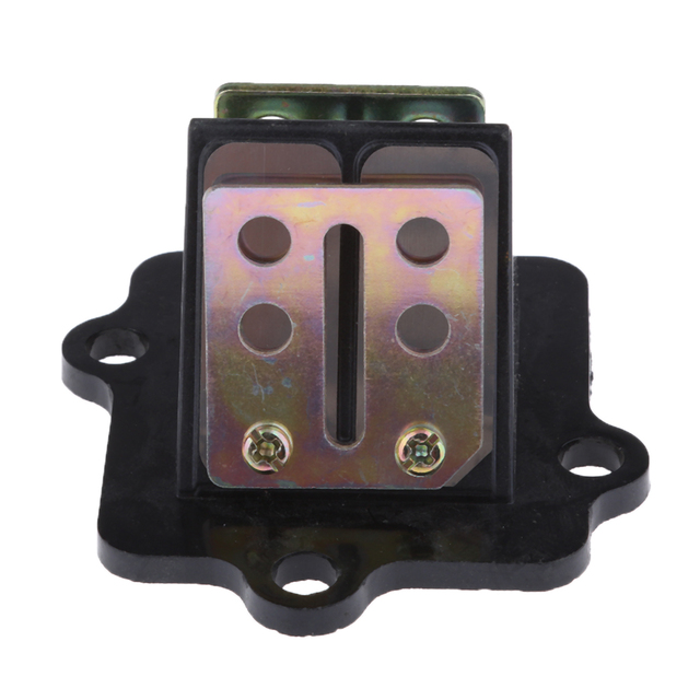 Reed Valve Block With Petals For Yamaha Jog50 Jog90 2 Stroke Moped Scooter  Valves Motorcycle Parts Reeds