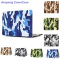 Camouflage Decal Shell Laptop Cover for Macbook Air 13 Case 13.3 inch Camouflage Laptop Protective Cover for Macbook Air 13 Case