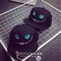 2016 Новые Моды Унисекс Алиса в Стране Чудес Pattern Кот Бейсболка Хип-Хоп Hat Cap