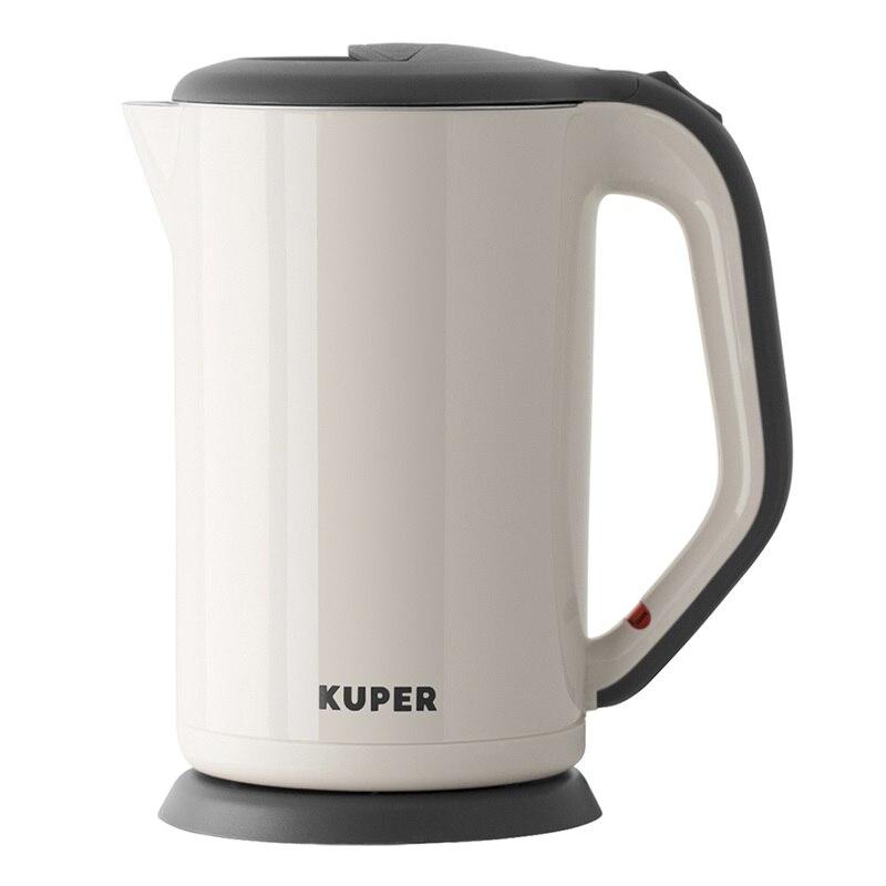 лучшая цена Чайник электрический KUPER, KU1900K, 1800W, 1,7 л
