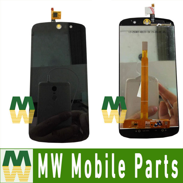 Alta qualidade cor branca 1 pc/lote para acer liquid z530 display lcd + montagem da tela de toque