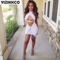 LY034 Women Dress 2016 Fashion Sexy Clothing New Solid Bandage Dresses Sexy Night Club Wear Dress Pack Hip Woman Mini Dresses