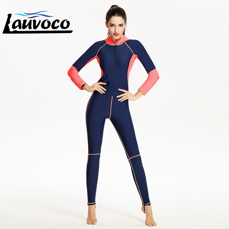 2019 Sport Gym One Piece Women Competition Swimwear With Cap Professional Race Swimsuit Quick Dry Female Long Pants Bathing Suit