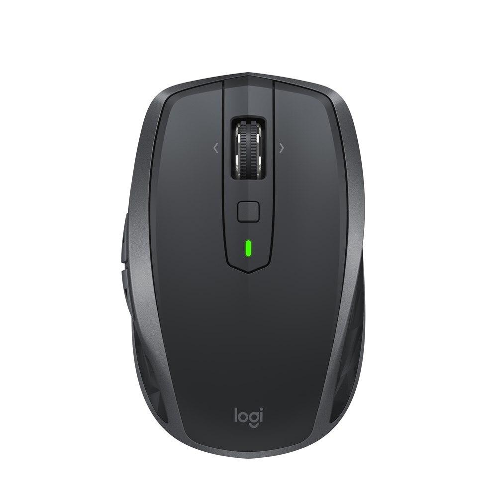 Souris d'ordinateur portable sans fil Logitech MX partout 2 S souris d'ordinateur Bluetooth droite 4000 DPI 106g souris de jeu noir gris