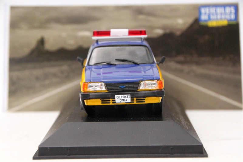 IXO Altaya 1:43 Escala Brinquedos Carro Chevrolet Opala Rodoviaria Policia Federal Modelos Diecast Coleção de Edição Limitada