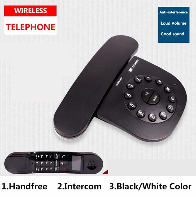 DECT 6,0 плюс цифровой беспроводной телефонный звонок ID Mute Handfree беспроводной домашний телефон для офиса Бизнес черный белый
