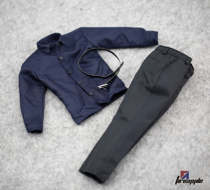 1/6 Scale Action Figure Clothing Set 1/6 Male Trousers With Belt Clothes Accessories Model  For F 12