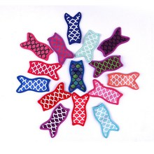 10pcs Mermaid printing popsicle holders Ice Popsicle sleeves freezer Pop for kids Summer Cream Tools