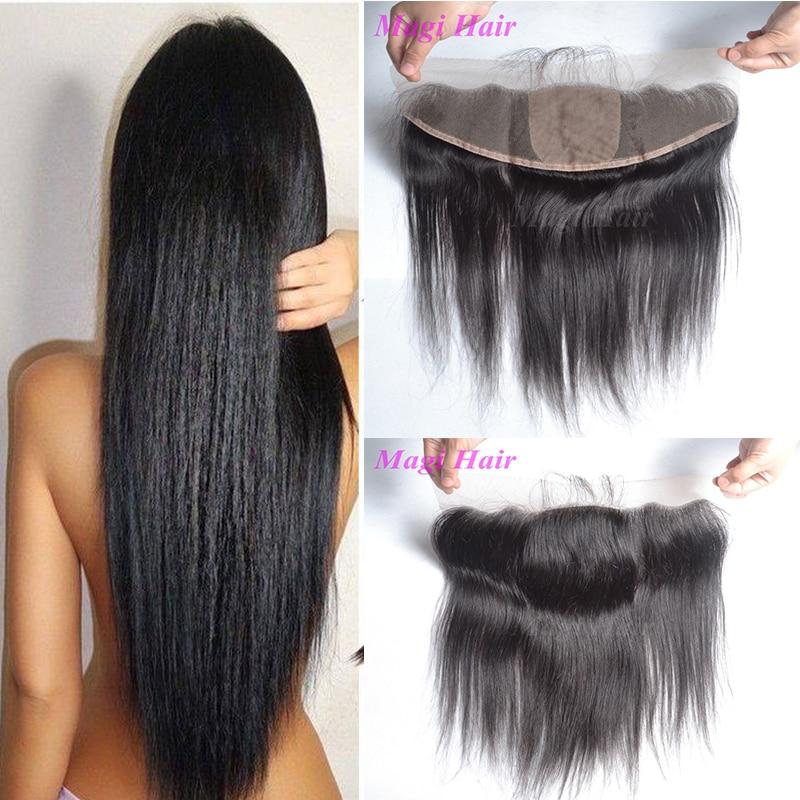 7A Silk Base Frontal Human Hair Brazilian Silk Base Lace