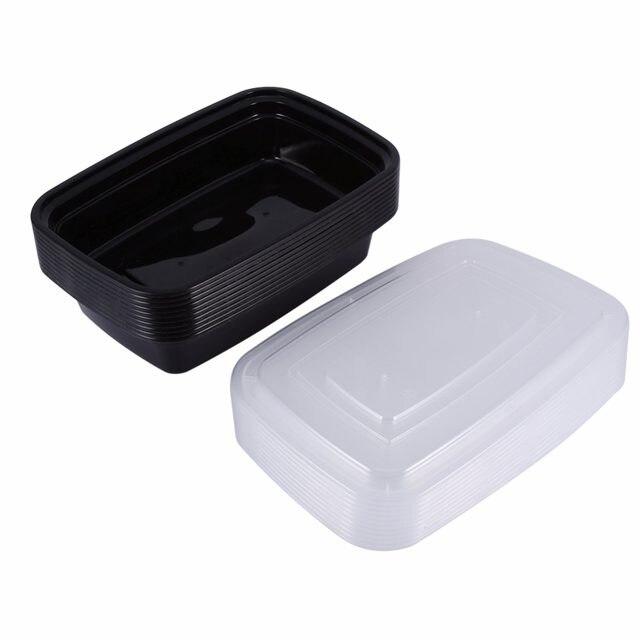 Online Shop Disposable Microwave Plastic Food Storage Container Safe