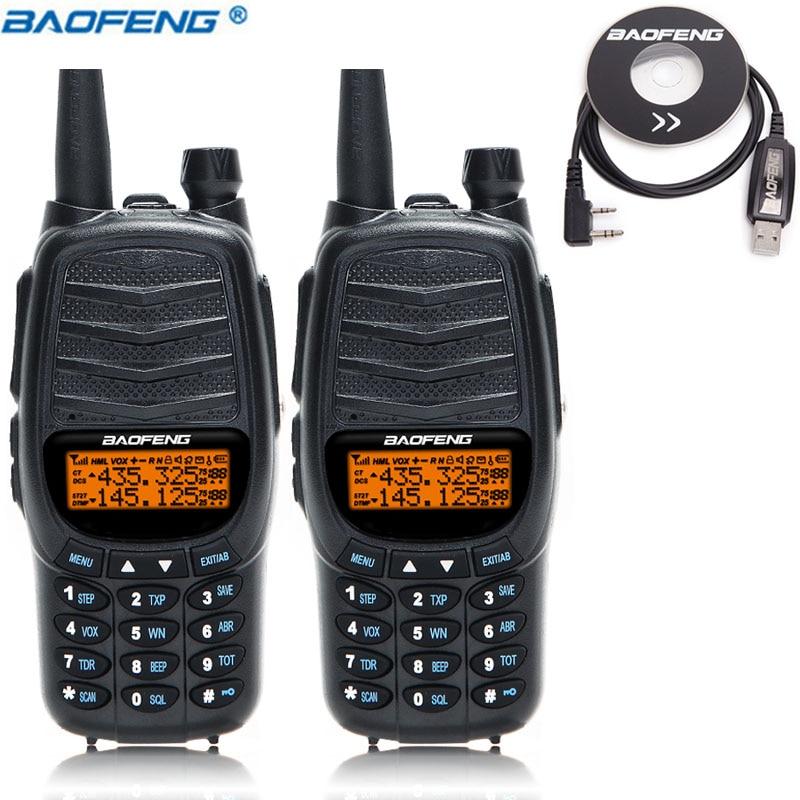 2PCS 2019 Baofeng UV X9 Plus 10 w powerful Walkie Talkie Powerful Portable Radio 10km upgraded